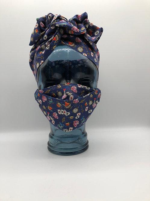 Wonderland 3D Face Mask