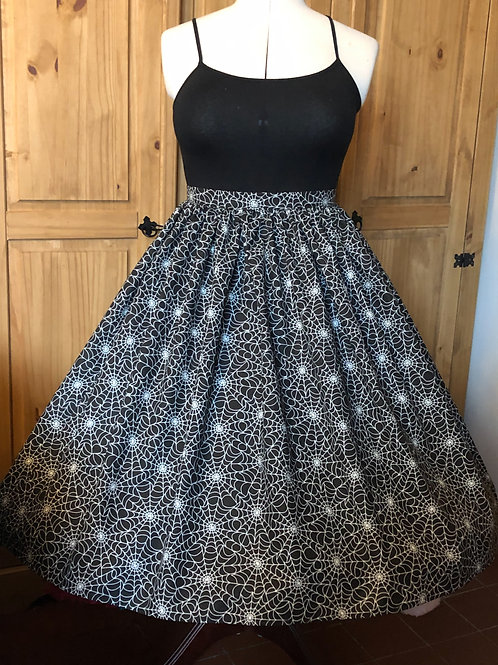 Spiders Web Gertie Skirt Size 16