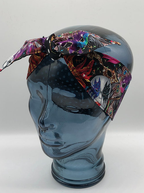 Carnival Mask Headscarf