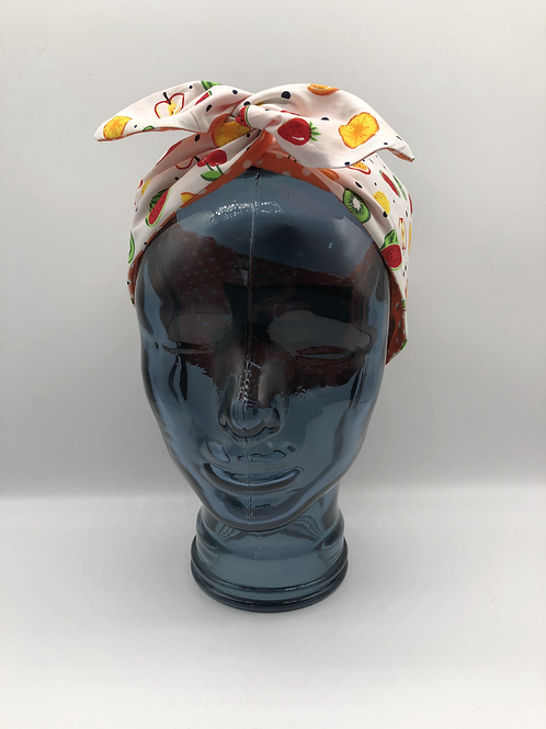 Fruit Cocktail Twisted Headscarf (SAMPLE)