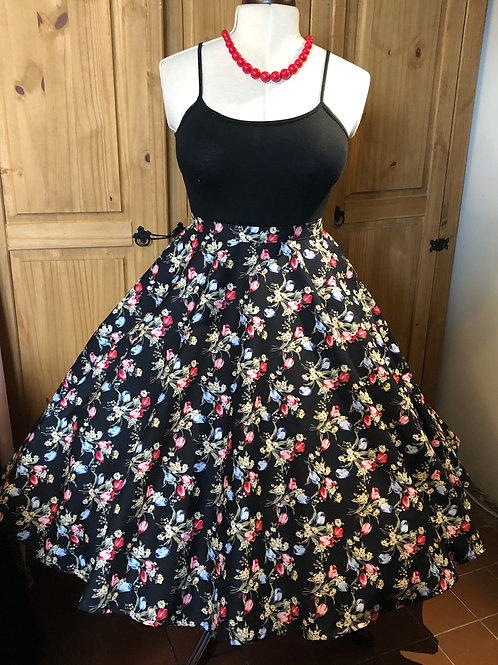 Tulip Bouquet Florence Skirt Size 12