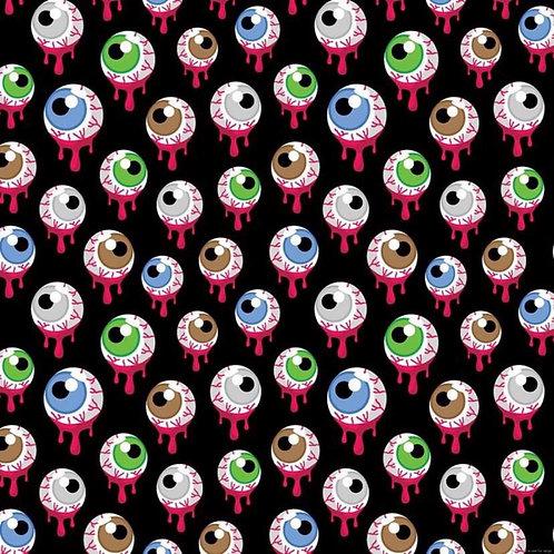Spooky Eyeballs Katie Circle Dress