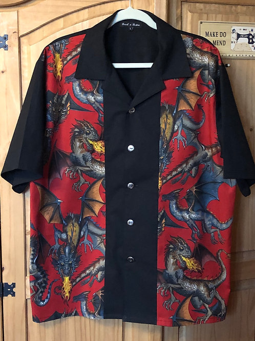 Alexander Henry 'Tale Of The Dragon' Bowling Shirt