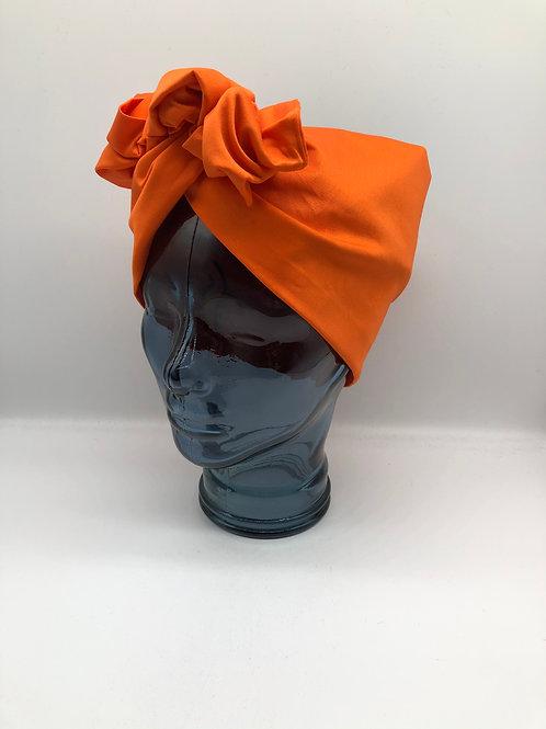 Pumpkin Twisted Turban