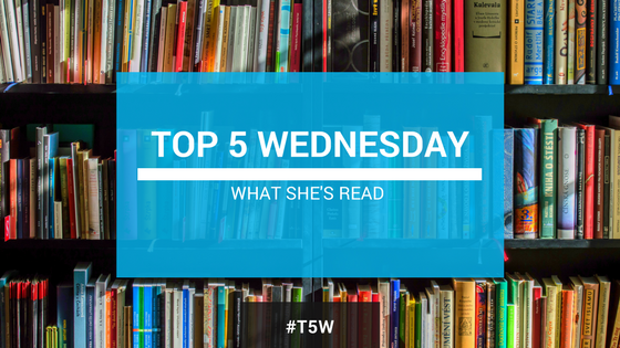 Top 5 Wednesday from Goodreads Series I'm Not Going To Finish