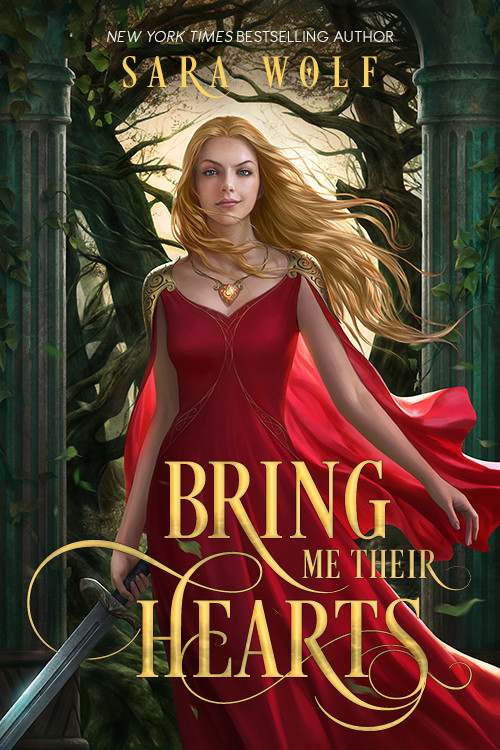 BRING ME THEIR HEARTS by Sara Wolf cover reveal on What She's Read