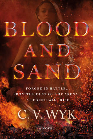 Book review of Blood and Sand by C.V. Wyk [What She's Read]