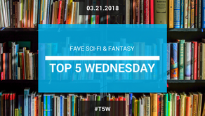 Top 5 Wednesday: Fave Sci-Fi & Fantasy (in other media)