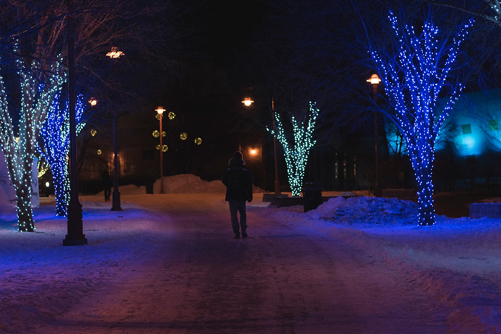 The Forks in the Winter