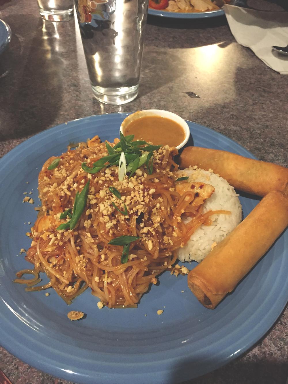 Pad Thai at Thida's Thai Restaurant