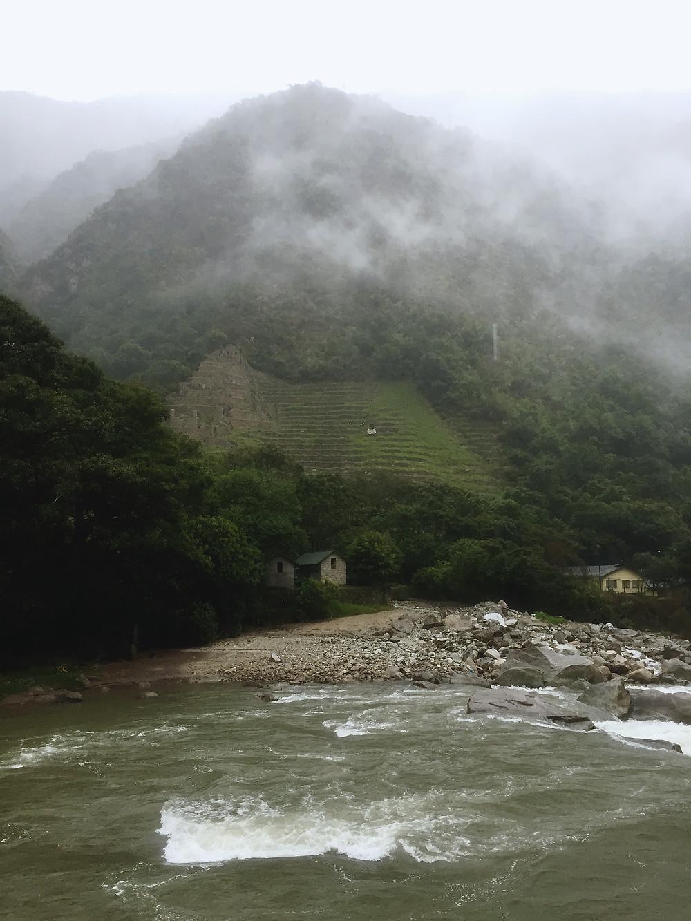 Along Urubamba river