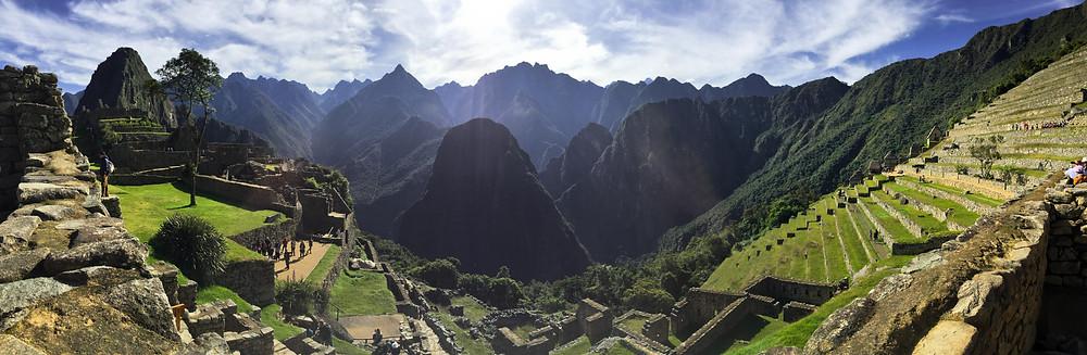 Panorama of Machu Picchu
