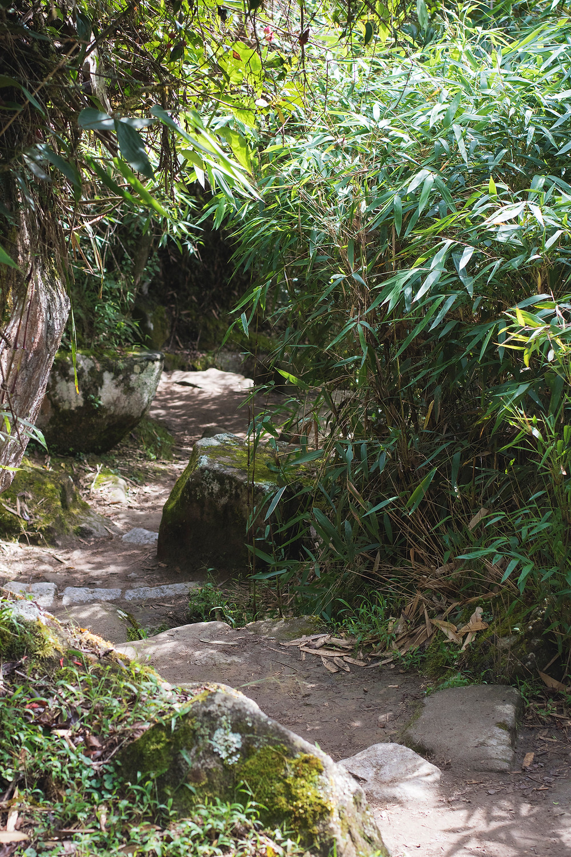 Entrance to Huayna Picchu hike