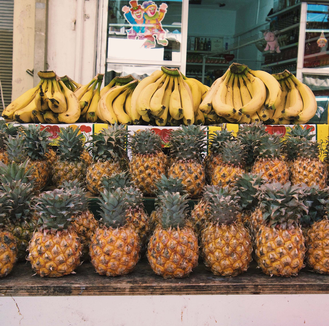 A Fruit Stand in Tel Aviv, Israel