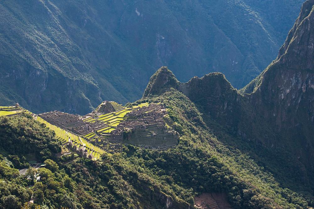 This is Machu Picchu