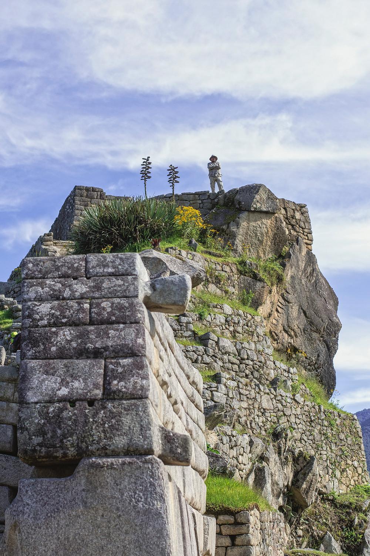 Guards in Machu Picchu