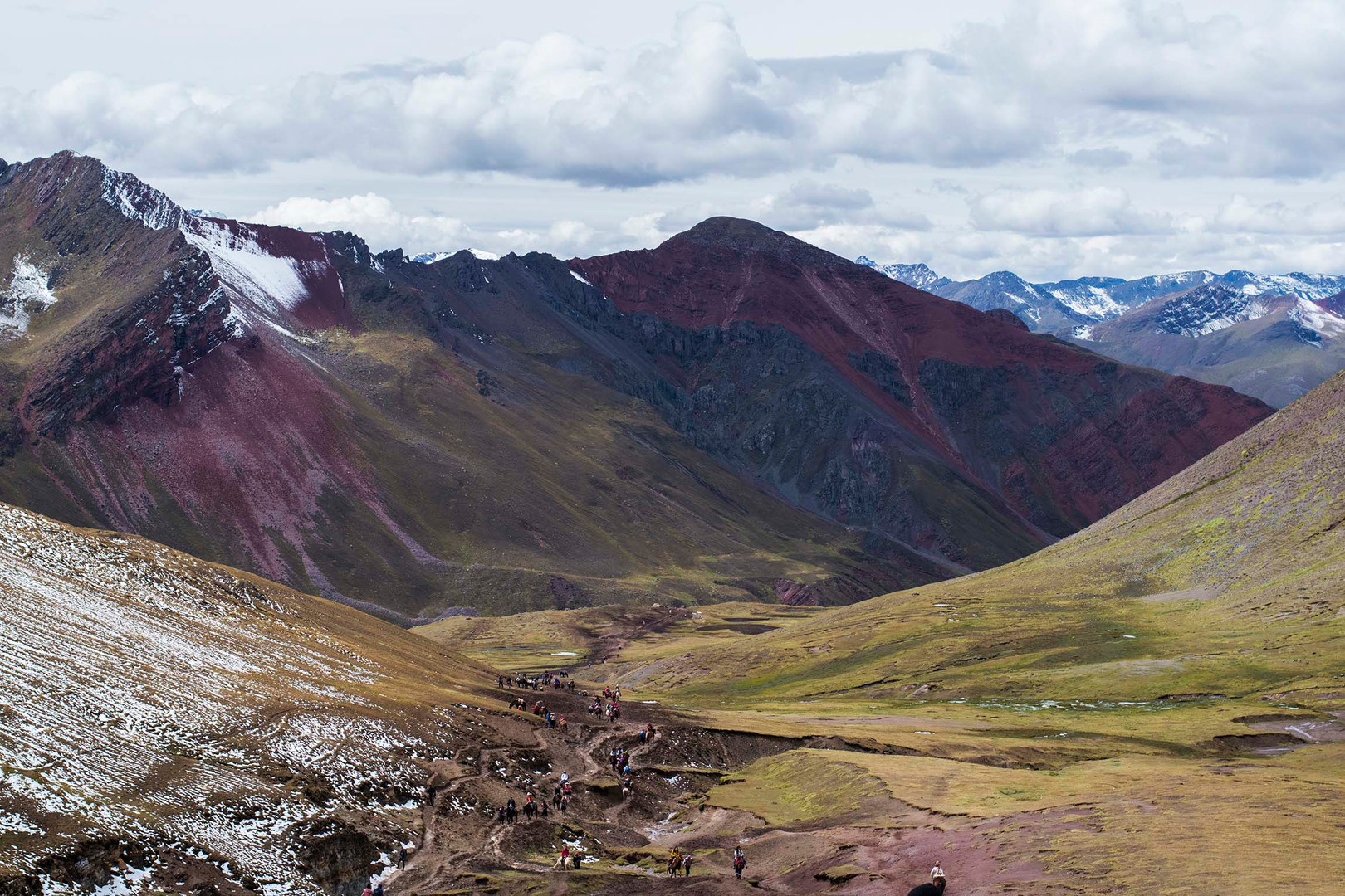 Rainbow Mountain in Peru