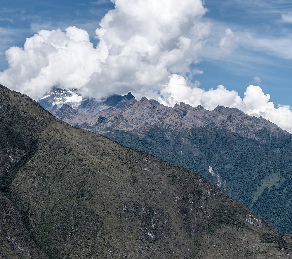 Mountain view from Huayna Picchu