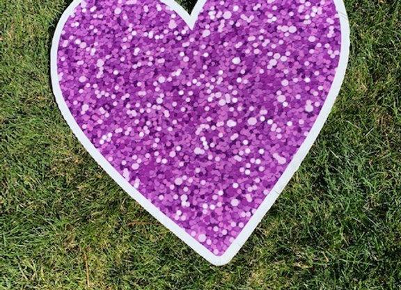 Purple Heart Icon