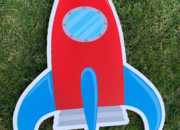 Rocketship Icon