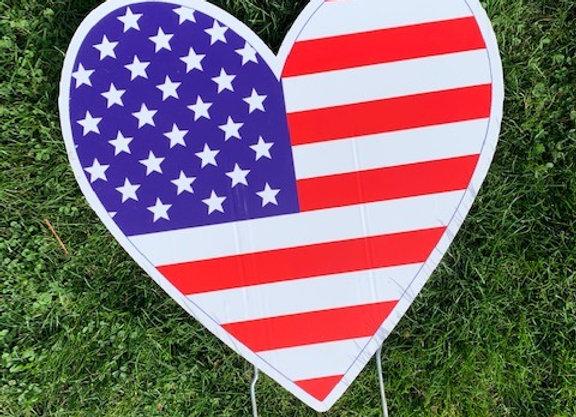Heart Flag Icon