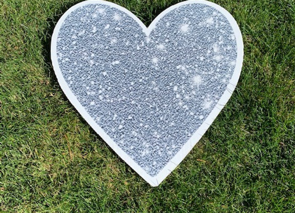 Silver Heart Icon
