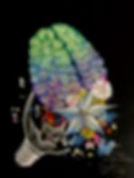 tin q nguyen art vanderbilt artist scientist nashville brain brilliance lightbulb flower broken intelligence creative