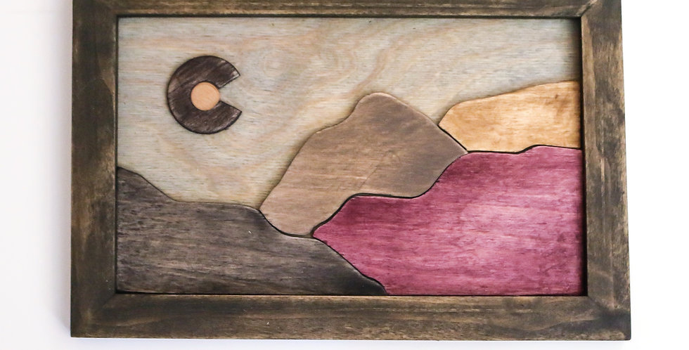 Colorado Wall Art - Purple Mountains