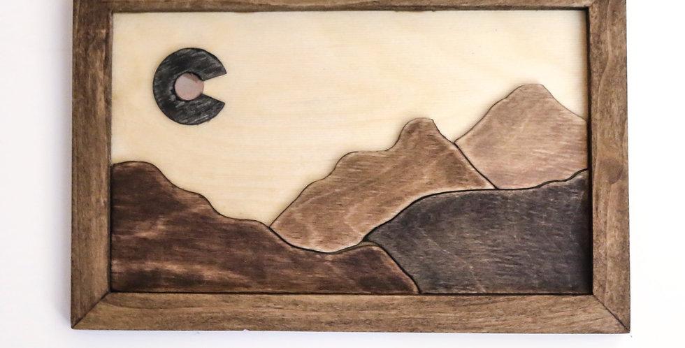 Colorado Wall Art - Classic Mountains