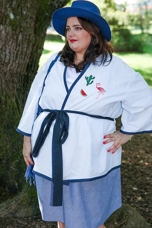 Kimono bleu clair T1-T3