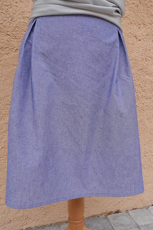 Jupe bleue faux jeans