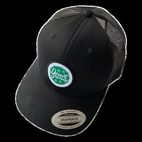 Desert Supreme Trucker Cap (Black)