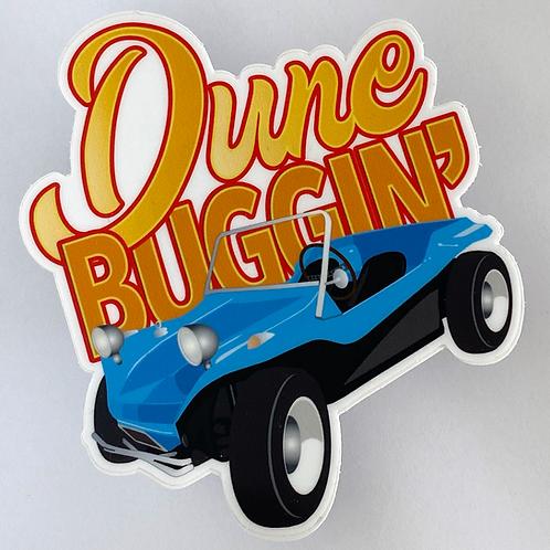 Dune Buggin' Vinyl Sticker
