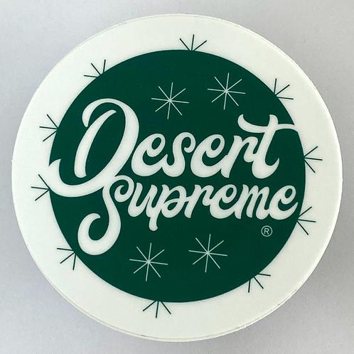 Desert Supreme Logo Vinyl Sticker or Magnet