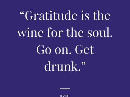 Gratitude while Grieving