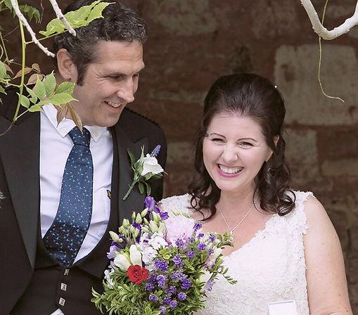 Naomi & Dieter Peschkes on their wedding day