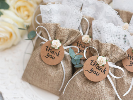 30 Fabulous Wedding Favours (that won't break the wedding budget!)