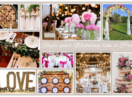 How to style your Wedding like a Pro!