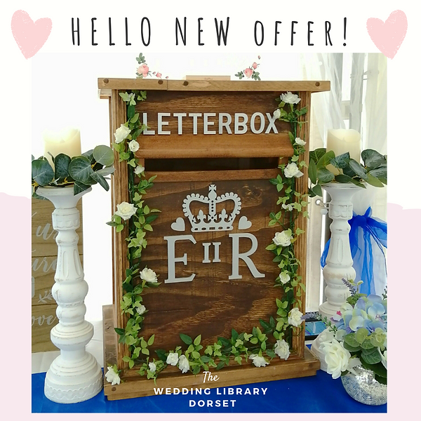 Wedding Post Box - June 2021 Special Offer