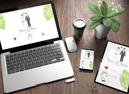 Wedding Website Builders: 5 of the Best Free Sites!