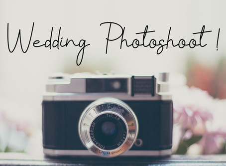 Behind the Scenes at a Wedding Photoshoot