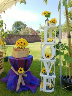 Sunflower LOVE Cubes