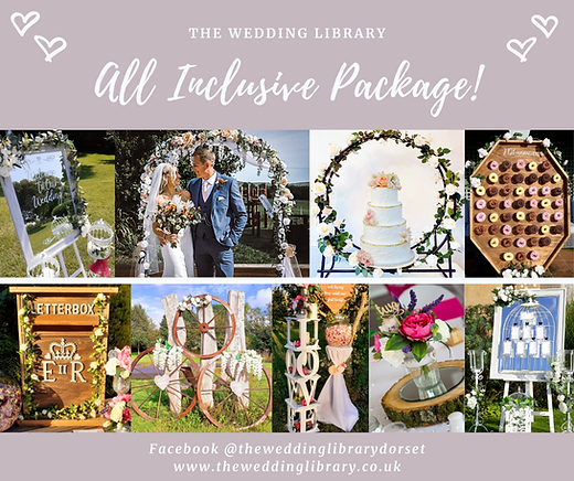 The Wedding Library's All-Inclusive Package