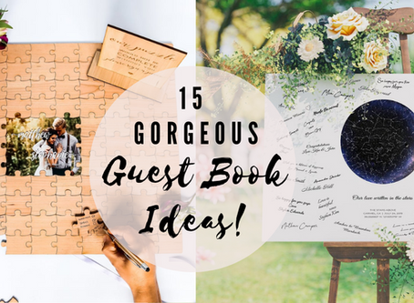 15 Alternative Wedding Guest Book Ideas You & Your Guests Will Love!