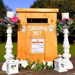 Bespoke Wedding Postbox