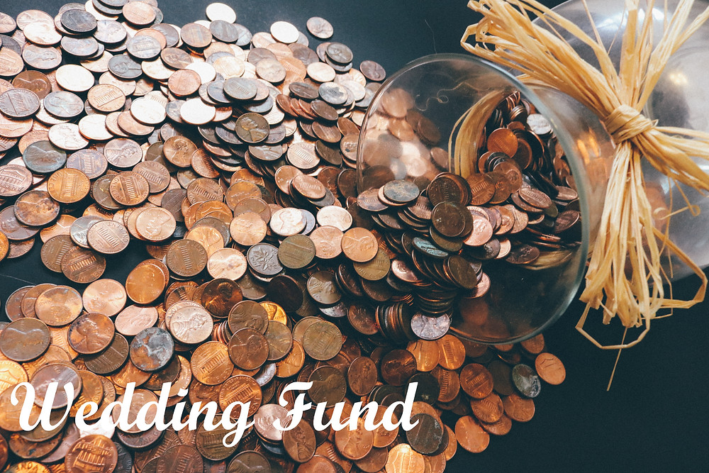 Saving money for your wedding fund