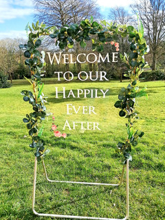 Welcome to our Happily Ever After!
