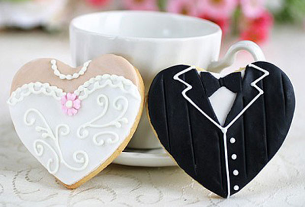 Wedding Library recommended wedding favour cookies