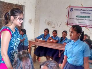 Education and awareness program on feminine health and hygiene