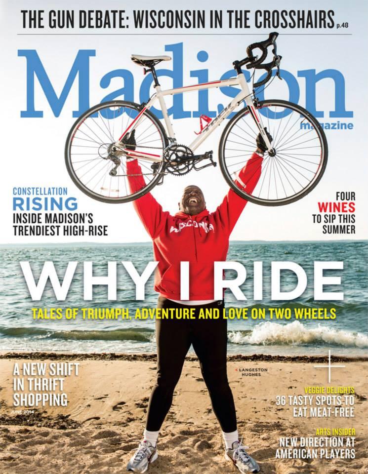 Why I Ride: Madison Magazine